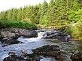Waterfalls on the Palnure Burn - geograph.org.uk - 507255.jpg