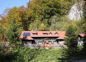 Höllental (Lower Austria) - Image: Weichtalhaus