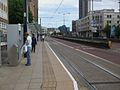 Wellesley Road tramstop look south.JPG