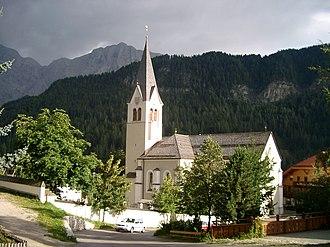 La Val - Image: Wengen La Val Kirche