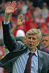 Arsene Wenger with Arsenal in May 2007