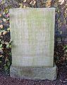 Werl, Hilbeck, Evangelische Kirche, Gedenkstein für gefallene Soldaten.jpg