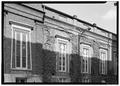 West side, detail of windows - First Presbyterian Church, 154 Fifth Avenue, Nashville, Davidson County, TN HABS TENN,19-NASH,13-5.tif