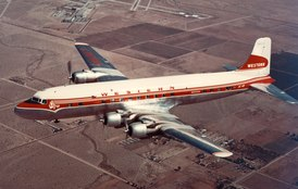 DC-6 Western Airlines