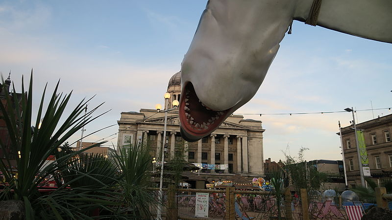 File:Whale at nottingham old market square (20458966871).jpg