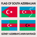 Which flag is the flag of South Azerbaijan.png