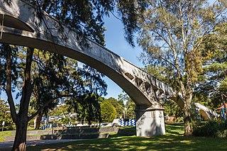Whites Creek Aqueduct Heritage-listed sewage aqueduct in Sydney, Australia