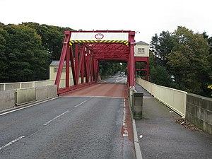 White Cart Bridge - Image: White Cart 'Swing' Bridge geograph.org.uk 1006429