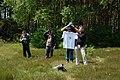 White shirt Wikipedia-Bio Treffen NRW 2009 02.jpg