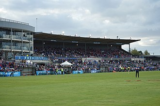 Whitten Oval - The E.J. Whitten Stand in February 2017