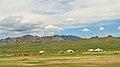 Widoki mongolskiego krajobrazu widziane z minibusa Karakorum - Ułan Bator (11).jpg