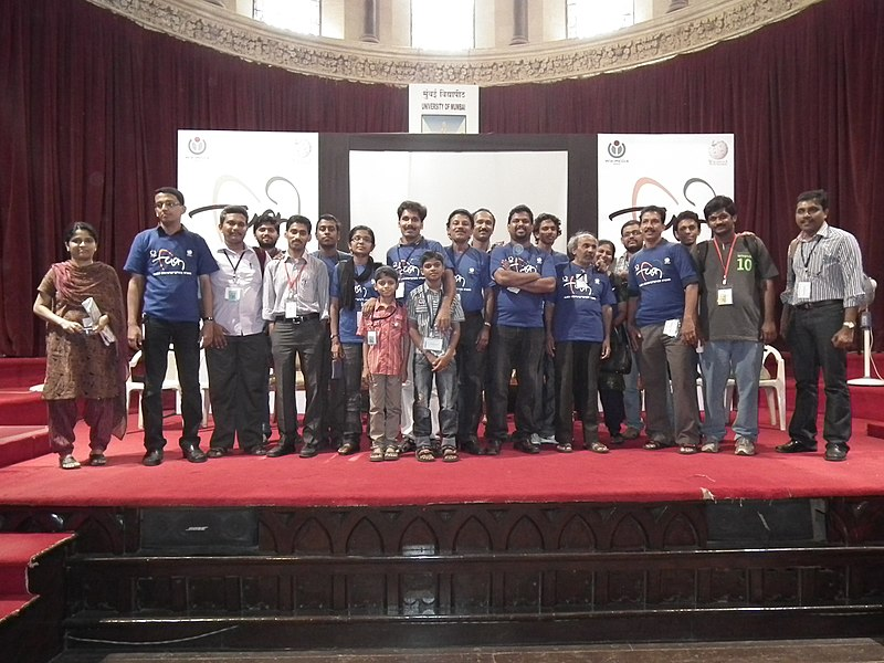 WikiConference India 2011 - Malayalam wikipedians 9640