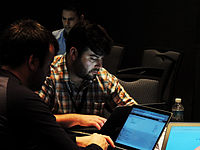 Wikimanía 2015 - Hackaton Day 1 - LMM - México D.F. (2).jpg