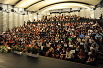 Wikimania 2011 - Closing ceremony (10).JPG