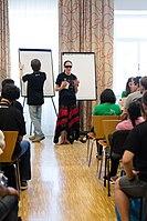 Wikimedia Hackathon Vienna 2017-05-19 Mentoring Program Introduction 026.jpg