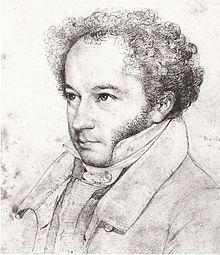 David Ferdinand Koreff (Zeichnung von Wilhelm Hensel) (Quelle: Wikimedia)