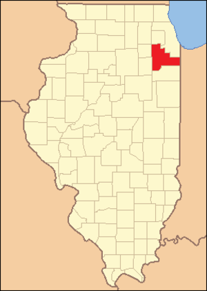 Will County, Illinois - Image: Will County Illinois 1853