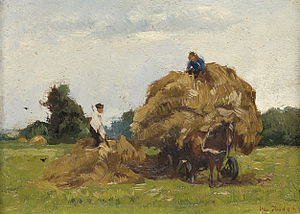 Willem de Zwart - The Haywagon