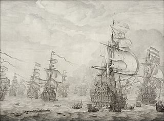 The Capture of the Royal Prince during the Four Days' Battle 1666