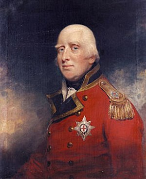 Prince William Henry, Duke of Gloucester and Edinburgh - Portrait in 1804 by Sir William Beechey.