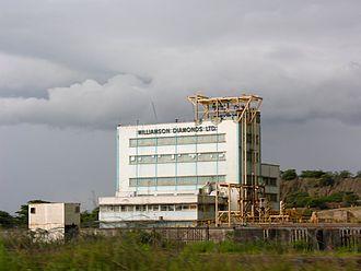 Williamson diamond mine - Image: Williamson Diamond Mine, Mwazui, Tanzania 03