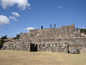Ushnu - Ushnu in Vilcashuamán, Ayacucho, Peru.