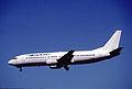 Winair Boeing 737-4Q8; TC-AFM@FLL, February 1999 BZN (5288142373).jpg