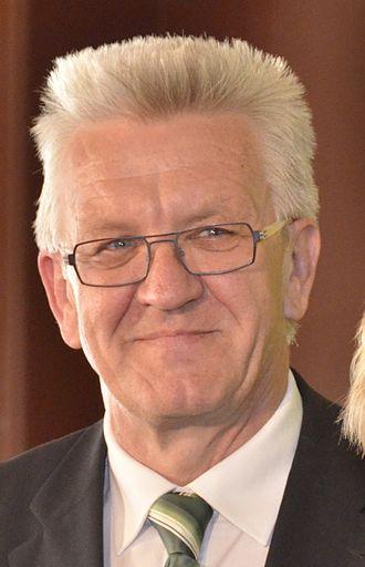 Minister president (Germany) - Image: Winfried Kretschmann 2012 (cropped)