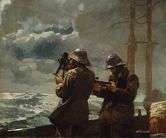 Addison Gallery of American Art - Winslow Homer's Eight Bells, part of the Addison Gallery's permanent collection