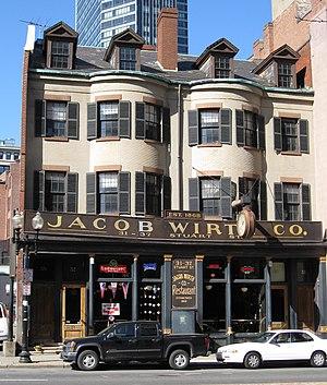Jacob Wirth Restaurant - Image: Wirths Bosstore