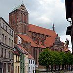 Wismar, St. Nikolai, Außenansicht. 2.JPG