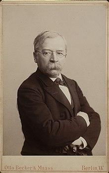 Woldemar Bargiel als Berliner Professor im Jahr 1885 (Quelle: Wikimedia)
