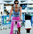 Woman on a bicycle (779714786).jpg