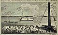 Woolwich Reach, convicts constructing quayside abutment 1777 LMA.jpg