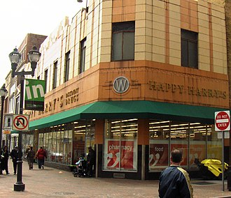 Happy Harry's - Happy Harry's on Market Street in Wilmington, Delaware in the old Woolworth's store in 2009