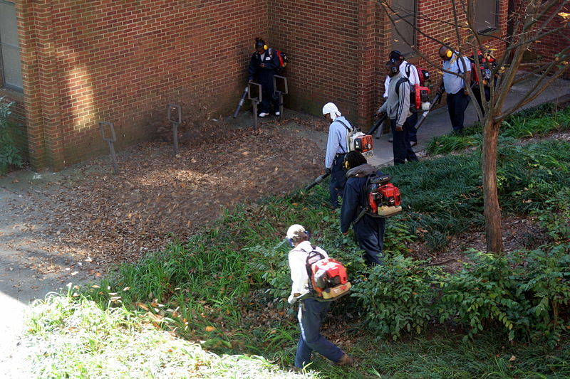 File:Workers with leaf blowers, Georgia Tech Facilities g.jpg