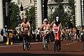 World Naked Bike Ride in London on The Mall, June 2013 (18).JPG