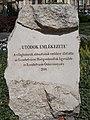 World War I and II memorial stone, Rózsák Square,2016 Budapest.jpg
