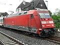 Wormser Hauptbahnhof- auf Bahnsteig zu Gleis 4- Richtung Mainz (IC 101 079-2) 26.5.2009.jpg