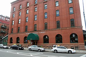 LoDo, Denver - The Wynkoop Brewing Company, located on 18th Street in LoDo
