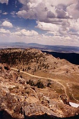 Sierra Madre Range in Wyoming
