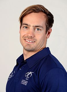 Evan OHanlon Paralympic competitor from Australia