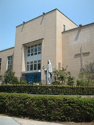 Xaverian High School - Image: Xaverian High School Brooklyn
