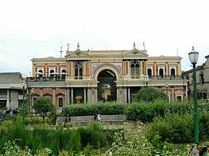 Italian Guatemalan - Image: Xela Parque Central 2007Jsbarrie