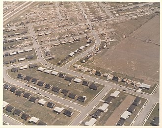 1974 Super Outbreak - F5 damage to homes in the Arrowhead/Windsor Park area of Xenia