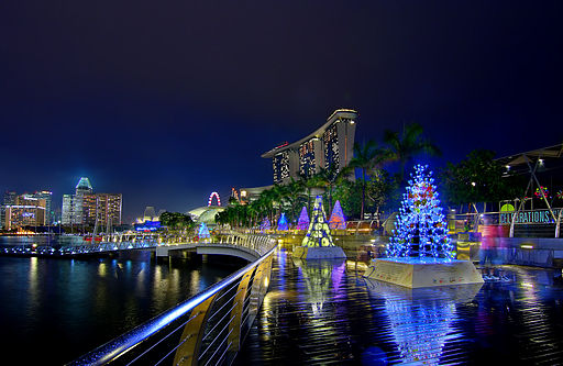 Xmas comes early to Marina Bay Sands (8182538298)