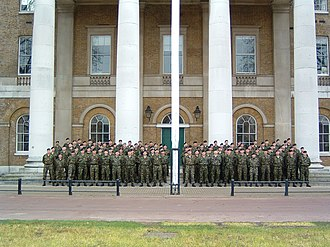 Royal Yeomanry - Y Squadron at the Duke of York's HQ, Chelsea, January 2003