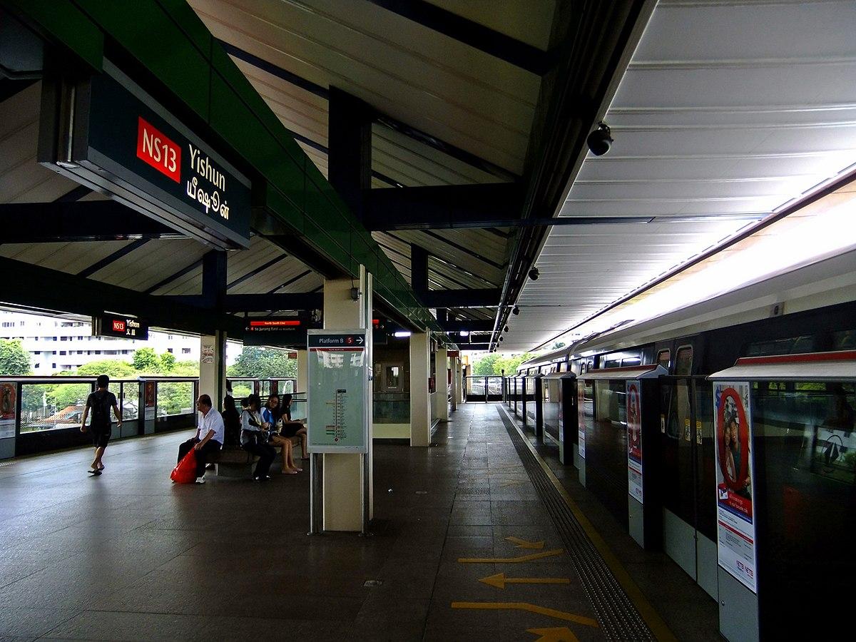 Yishun MRT Station  Wikipedia