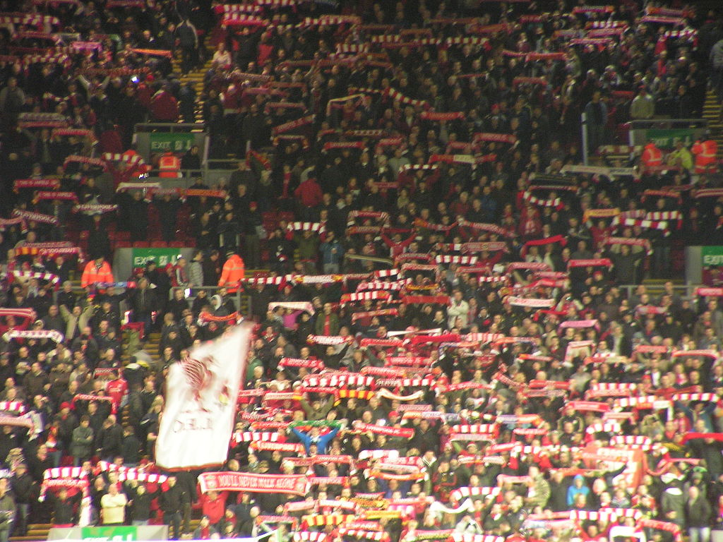 File You Ll Never Walk Alone Op Anfield Jpg Wikimedia Commons