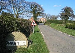 Youlton village in United Kingdom